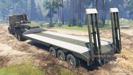 Oshkosh M1070 HET v2.0 для Spin Tires