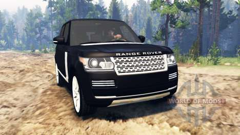 Land Rover Range Rover Vogue (L405) для Spin Tires