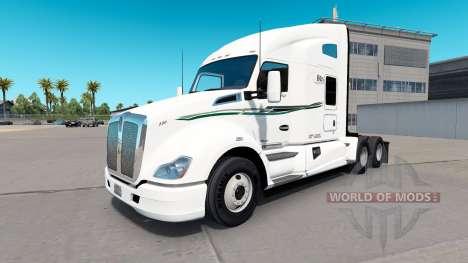 Скин BIG D Transport на тягачи для American Truck Simulator