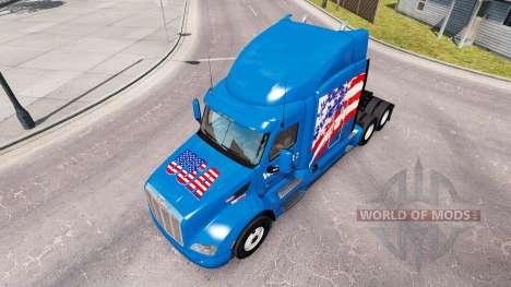 Скин Walmart USA на тягач Peterbilt для American Truck Simulator