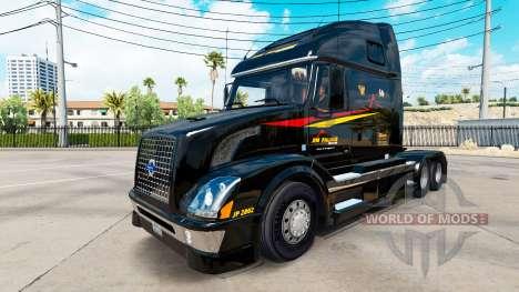 Скин Jim Palmer на тягачи для American Truck Simulator