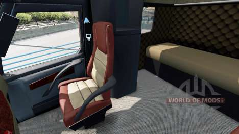 Concept truck 2020 Raised Roof Sleeper для American Truck Simulator