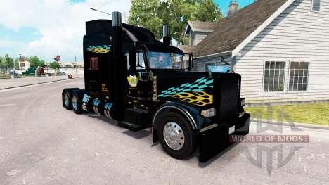 Скин Smith Transport на тягач Peterbilt 389 для American Truck Simulator