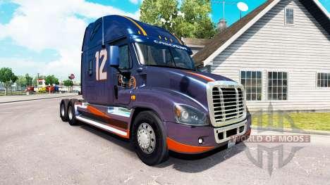 Скин Club Eagle на тягач Freightliner Cascadia для American Truck Simulator