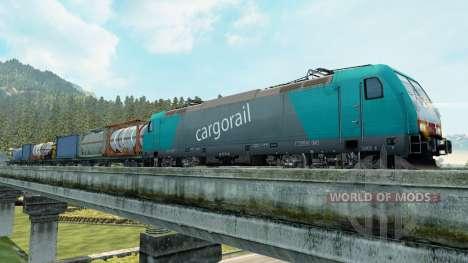Грузовые поезда для Euro Truck Simulator 2