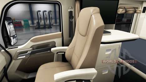 Интерьер Green Dial для Kenworth T680 для American Truck Simulator