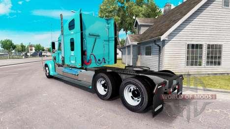 Скин FFE на тягач Freightliner Coronado для American Truck Simulator