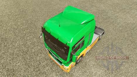 Скин Karcag Trans на тягач MAN для Euro Truck Simulator 2