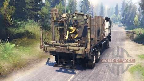 Volvo FL для Spin Tires