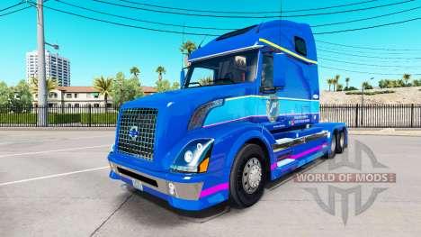 Скин Plycool на тягач Volvo VNL 670 для American Truck Simulator