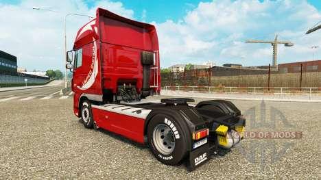 Скин Limited Edition v2.0 на тягач DAF для Euro Truck Simulator 2