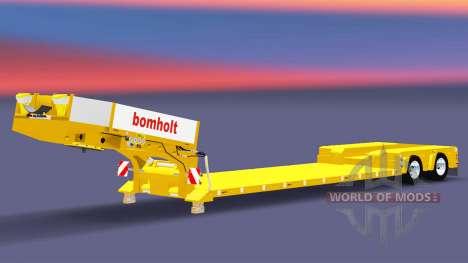 Низкорамный трал Doll Bomholt для Euro Truck Simulator 2