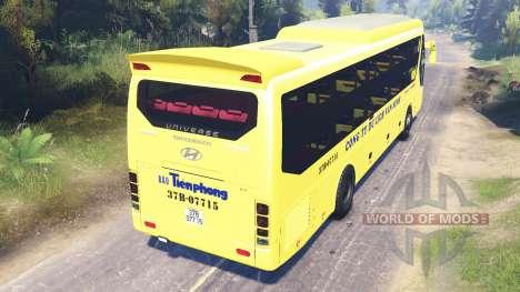 Hyundai Universe для Spin Tires
