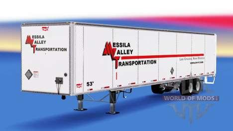 Полуприцеп Wabash для American Truck Simulator