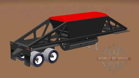 Полуприцеп-самосвал с донной разгрузкой для American Truck Simulator