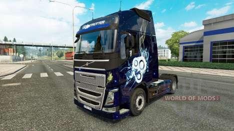 Скин Stylish на тягач Volvo для Euro Truck Simulator 2