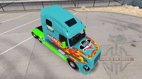 Скин Skoal Bandit на тягач Volvo VNL 670 для American Truck Simulator