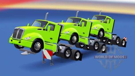 Полуприцепы из седельных тягачей для American Truck Simulator