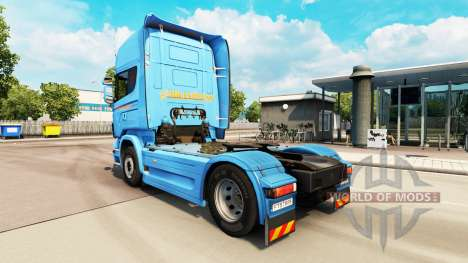 Скин Braspress на тягач Scania для Euro Truck Simulator 2