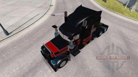 Скин JPC Ranch на тягач Peterbilt 389 для American Truck Simulator