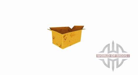 Коробка из гофрокартона с открытым верхом для Farming Simulator 2017
