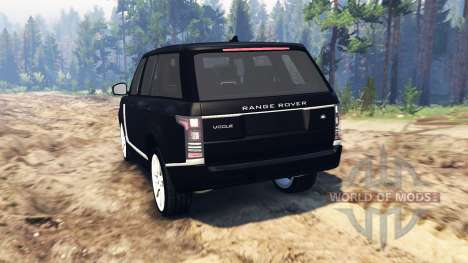 Land Rover Range Rover Vogue (L405) для Spin Tires