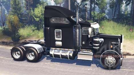 Kenworth W900 v2.0 для Spin Tires