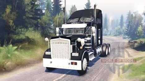 Kenworth W900 для Spin Tires