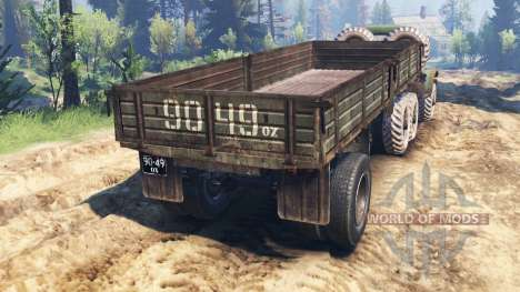 ЗиЛ-157 v3.0 для Spin Tires