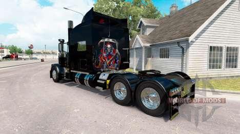 Скин Rebel Reaper на тягач Peterbilt 389 для American Truck Simulator