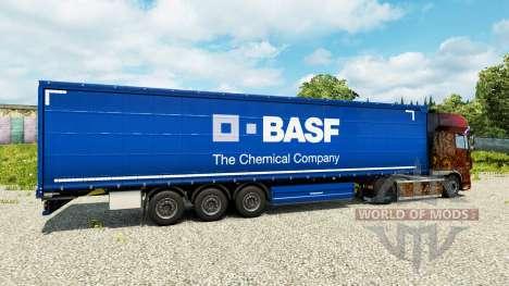 Скин BASF на полуприцепы для Euro Truck Simulator 2