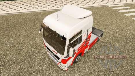 Скин TruckSim на тягач MAN для Euro Truck Simulator 2
