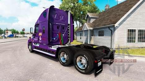 Скин Covenant на тягач Freightliner Cascadia для American Truck Simulator