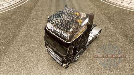 Скин Araignee на тягач Volvo для Euro Truck Simulator 2