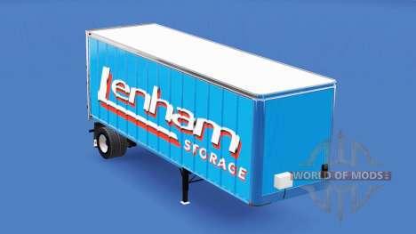 Скин Lenham на полуприцеп для American Truck Simulator