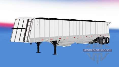 Полуприцеп зерновоз для American Truck Simulator