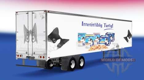 Скин Felix на полуприцеп для American Truck Simulator