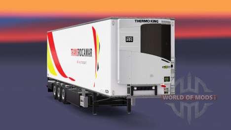 Полуприцеп-рефрижератор Chereau Transrocamar для Euro Truck Simulator 2