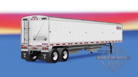 Самосвальный полуприцеп Wilson для American Truck Simulator
