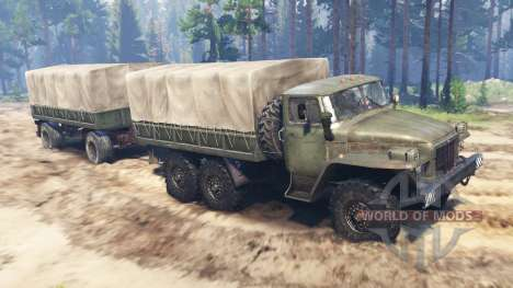 Урал-375 v2.0 для Spin Tires