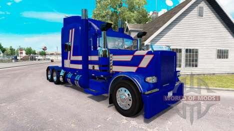 Скин Bad Habit на тягач Peterbilt 389 для American Truck Simulator