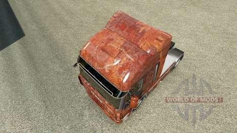 Скин Rusty на тягач Iveco для Euro Truck Simulator 2