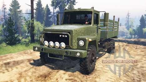 ГАЗ-3308 Садко v2.0 для Spin Tires