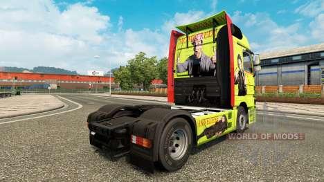 Скин Bulent Ceylan на тягач Mercedes-Benz для Euro Truck Simulator 2