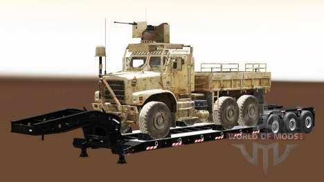 Полуприцепы с военной техникой v1.5 для Euro Truck Simulator 2