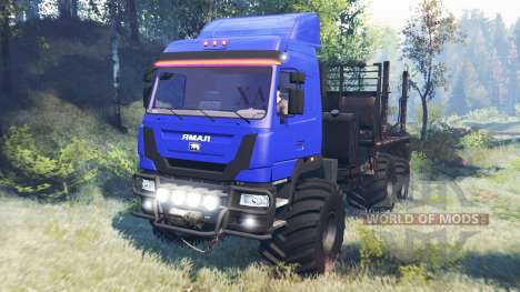 Ямал В-6 v6.0 для Spin Tires
