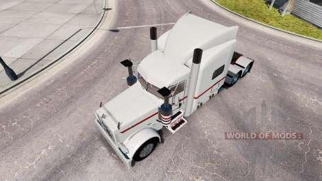 Скин Nathan T Deacon на тягач Peterbilt 389 для American Truck Simulator