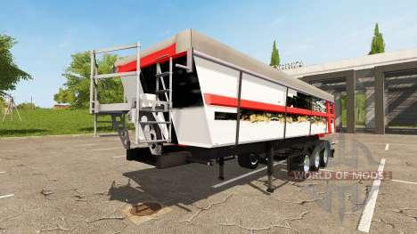 Schmitz Cargobull SKI 24 Wolf для Farming Simulator 2017