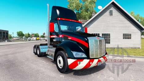 Скин Mammoet USA на тягачи для American Truck Simulator