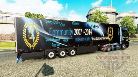 Полуприцеп-рефрижератор Schmitz DJ Charty для Euro Truck Simulator 2